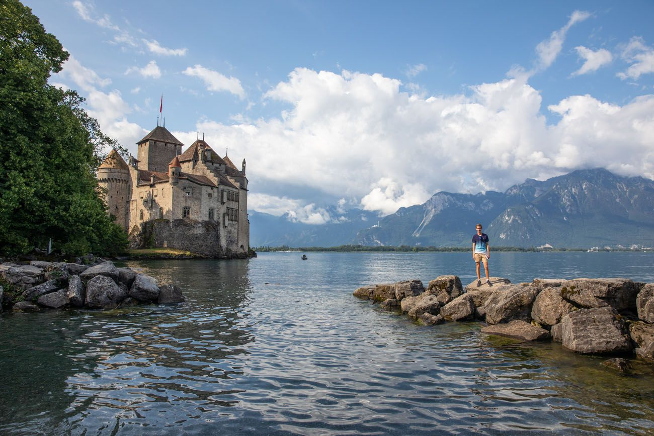 Chateau de Chillon Viewpoint