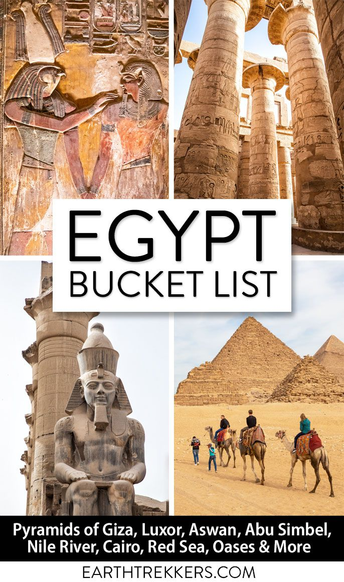 Egypt Travel Bucket List