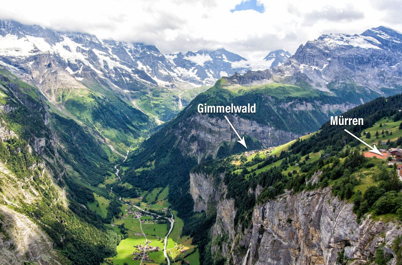 Gimmelwald and Murren