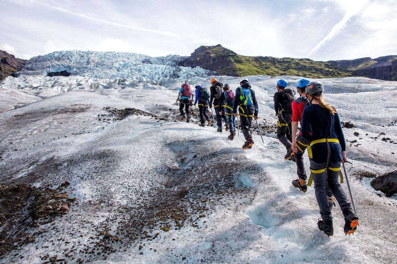 Glacier Hike Iceland best day trips from Reykjavík