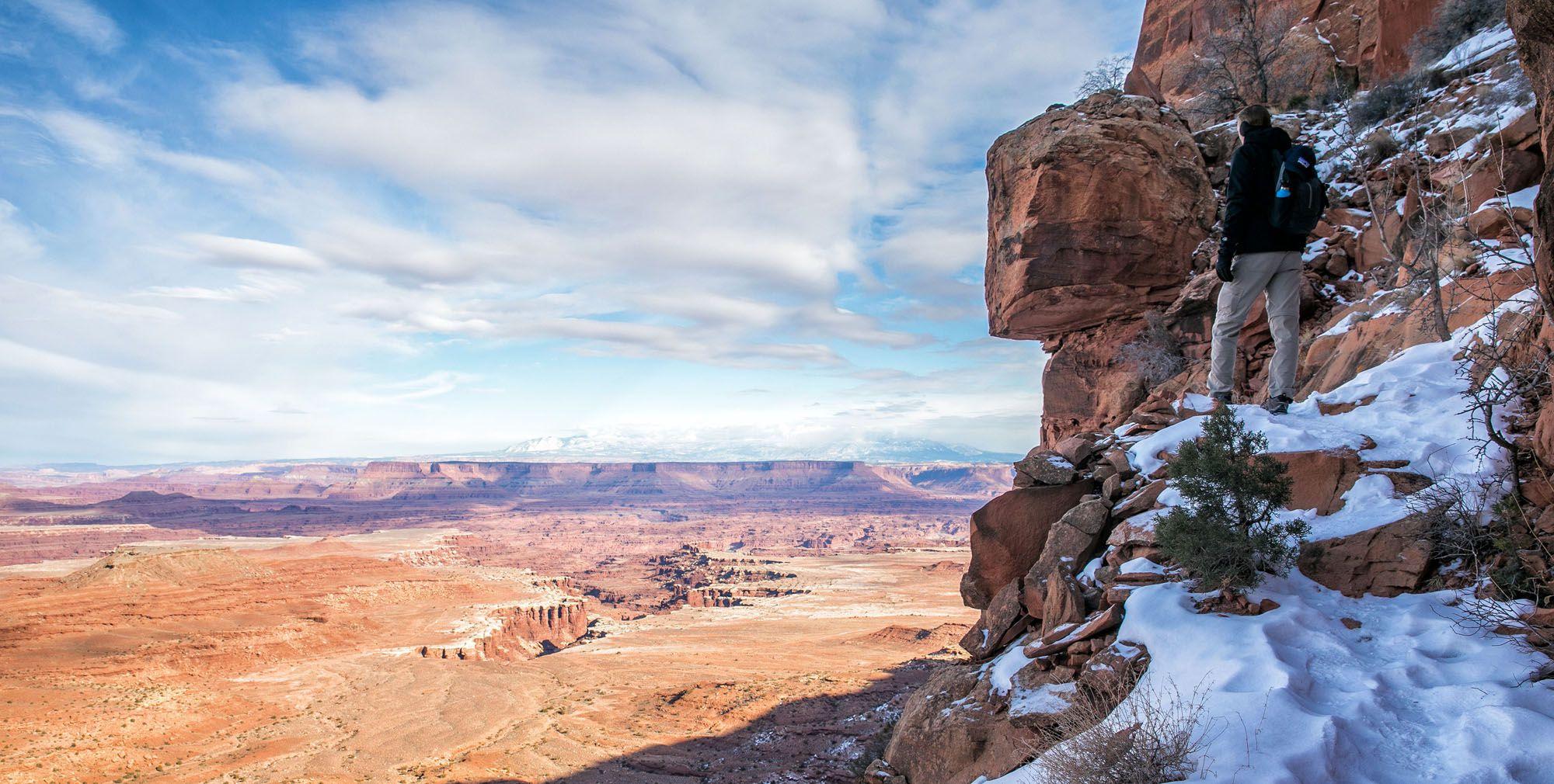 Gooseberry Hike Canyonlands