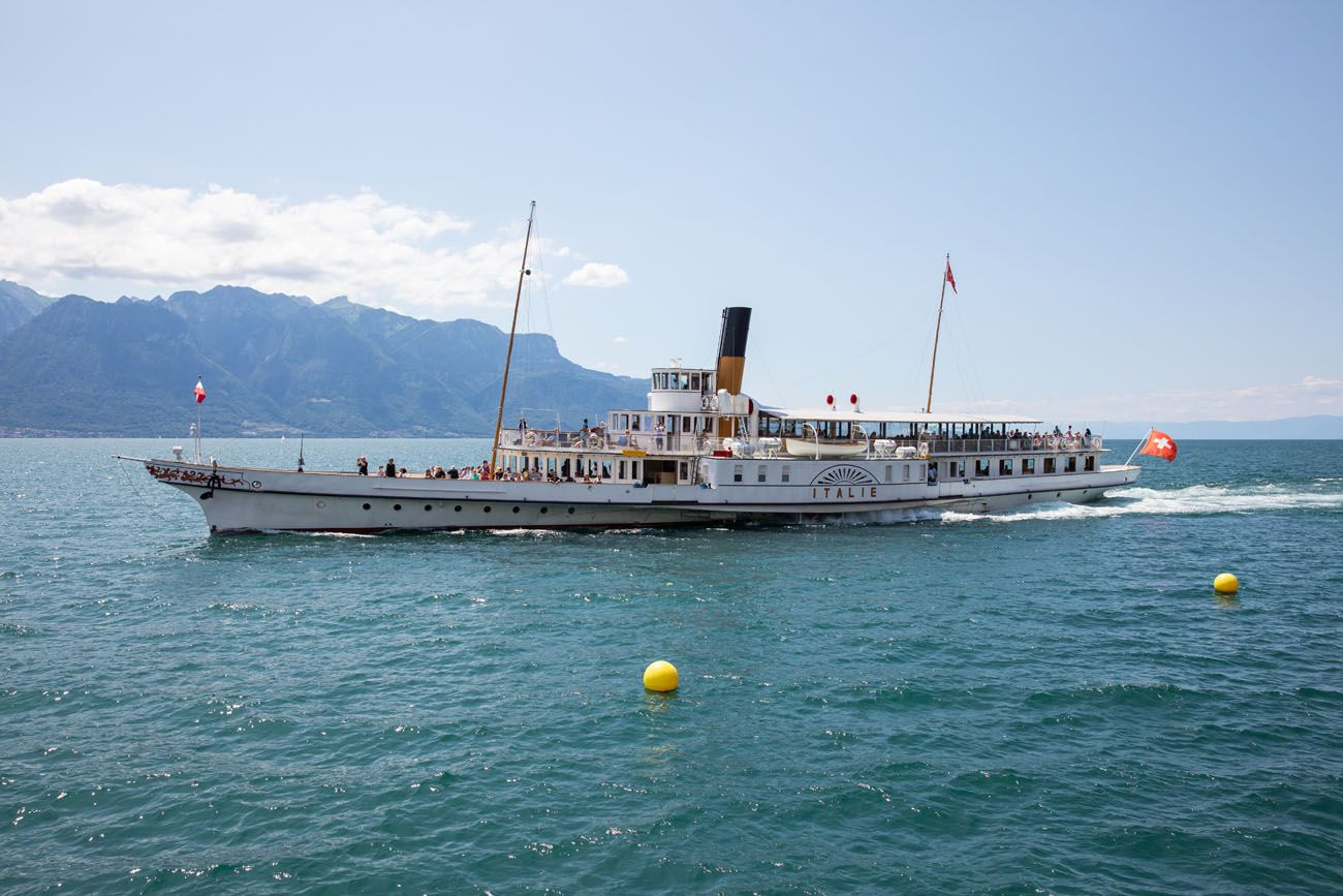 Lake Geneva Boat