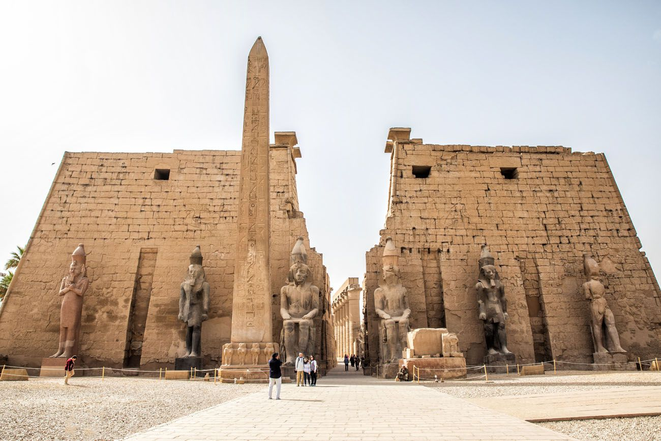 Luxor Temple best things to do in Egypt