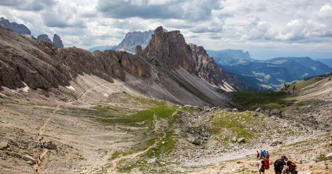 Puez Odle Hike Italy