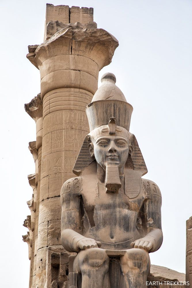 Ramesses II Luxor best things to do in Egypt