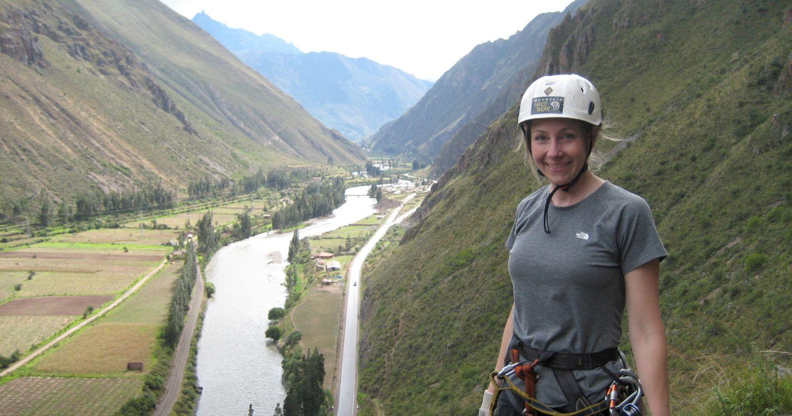 Rock Climb Peru