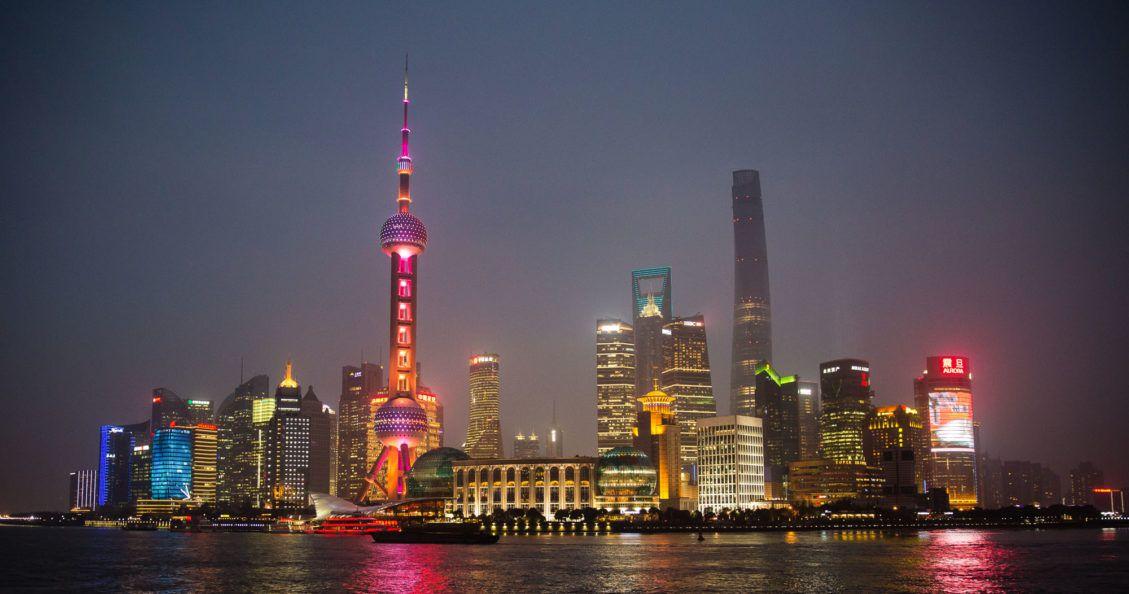 Shanghai Skyline 2015