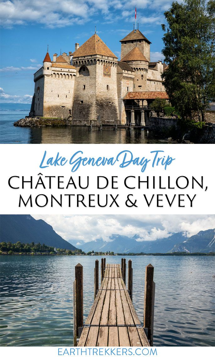 Switzerland Travel Chateau de Chillon