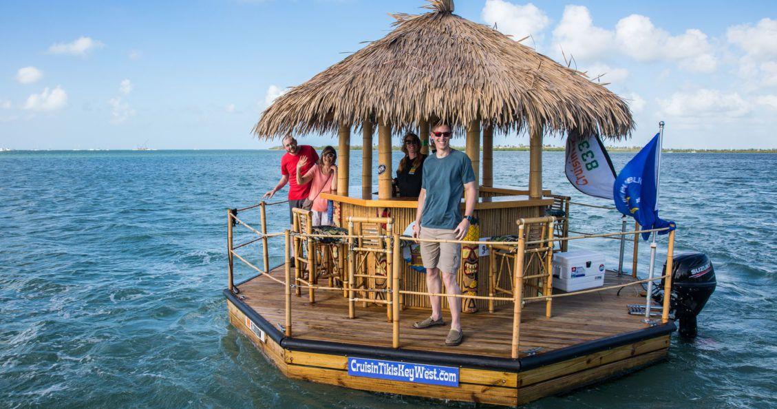 Tiki Boat Key West