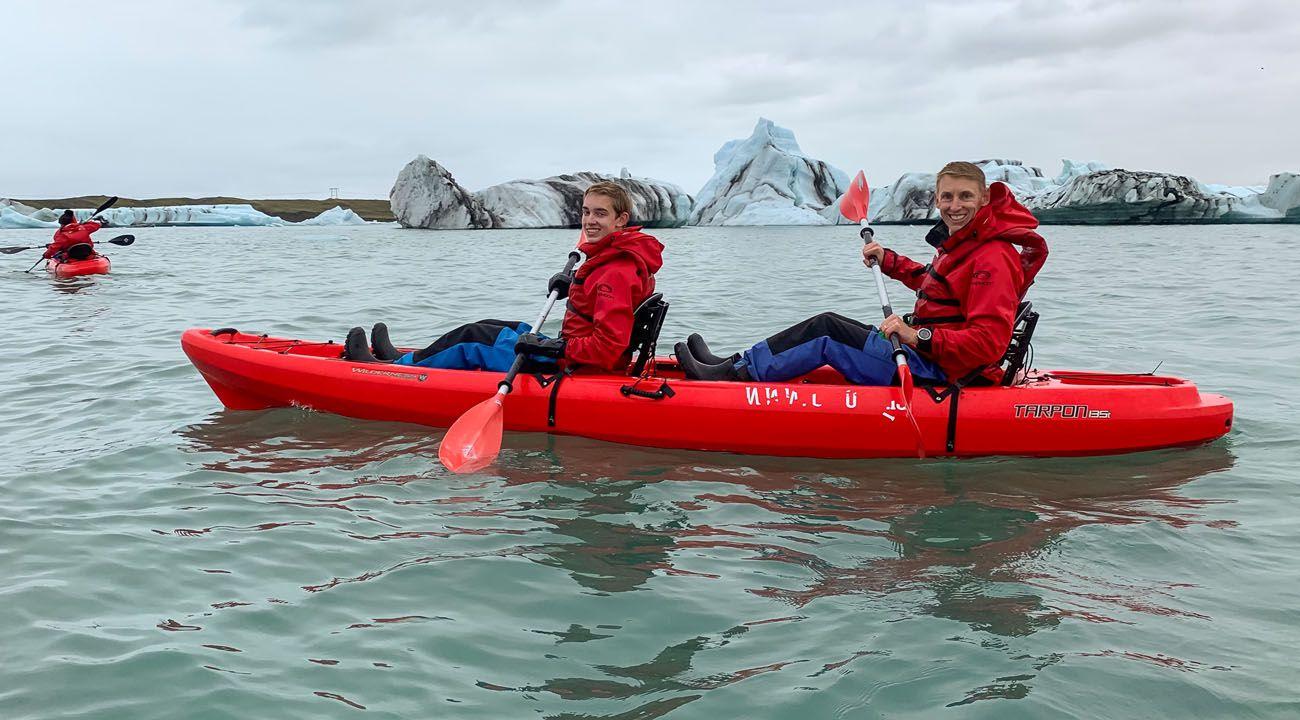 Tyler Tim Kayaking