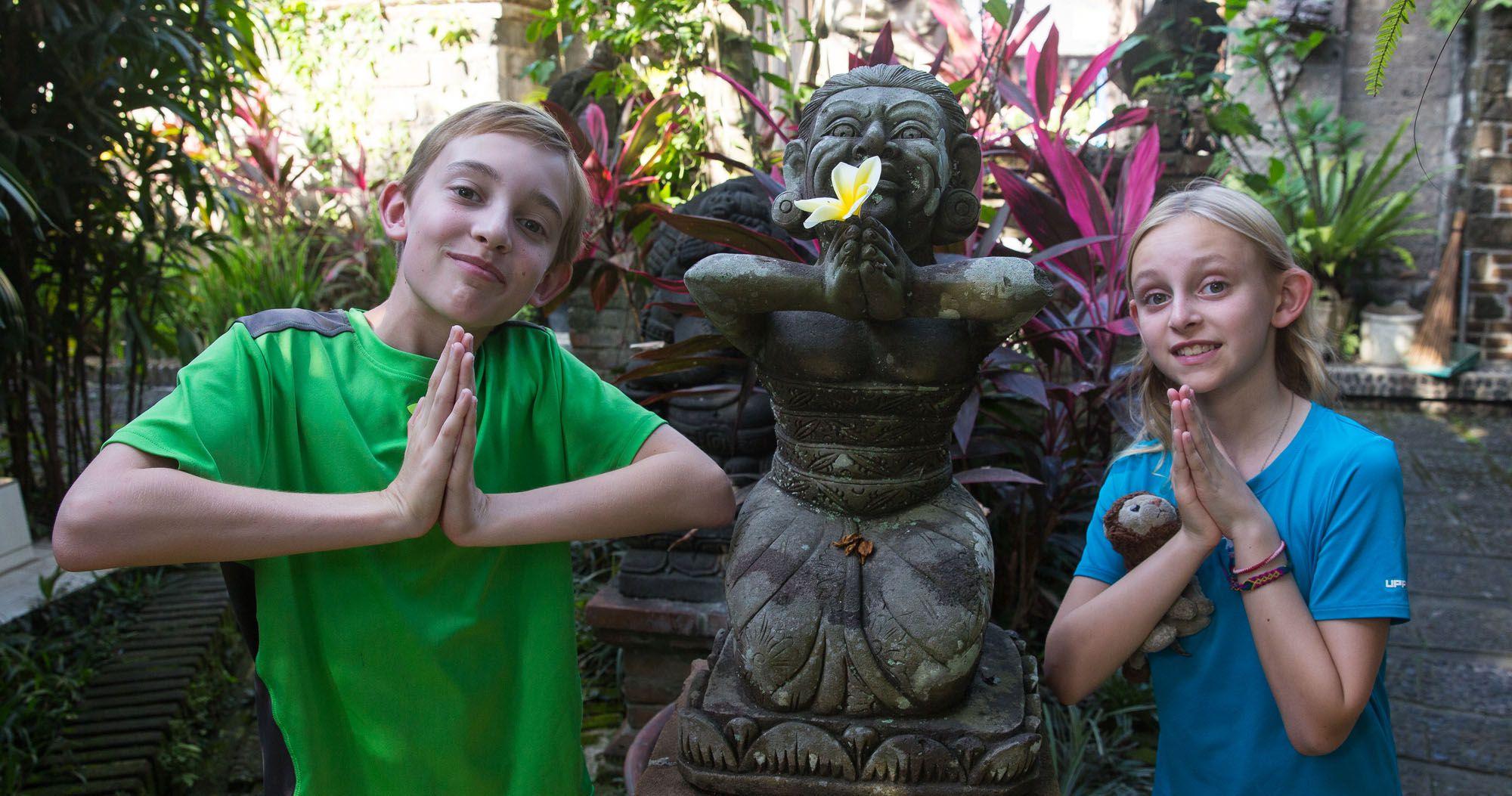 Tyler and Kara Bali