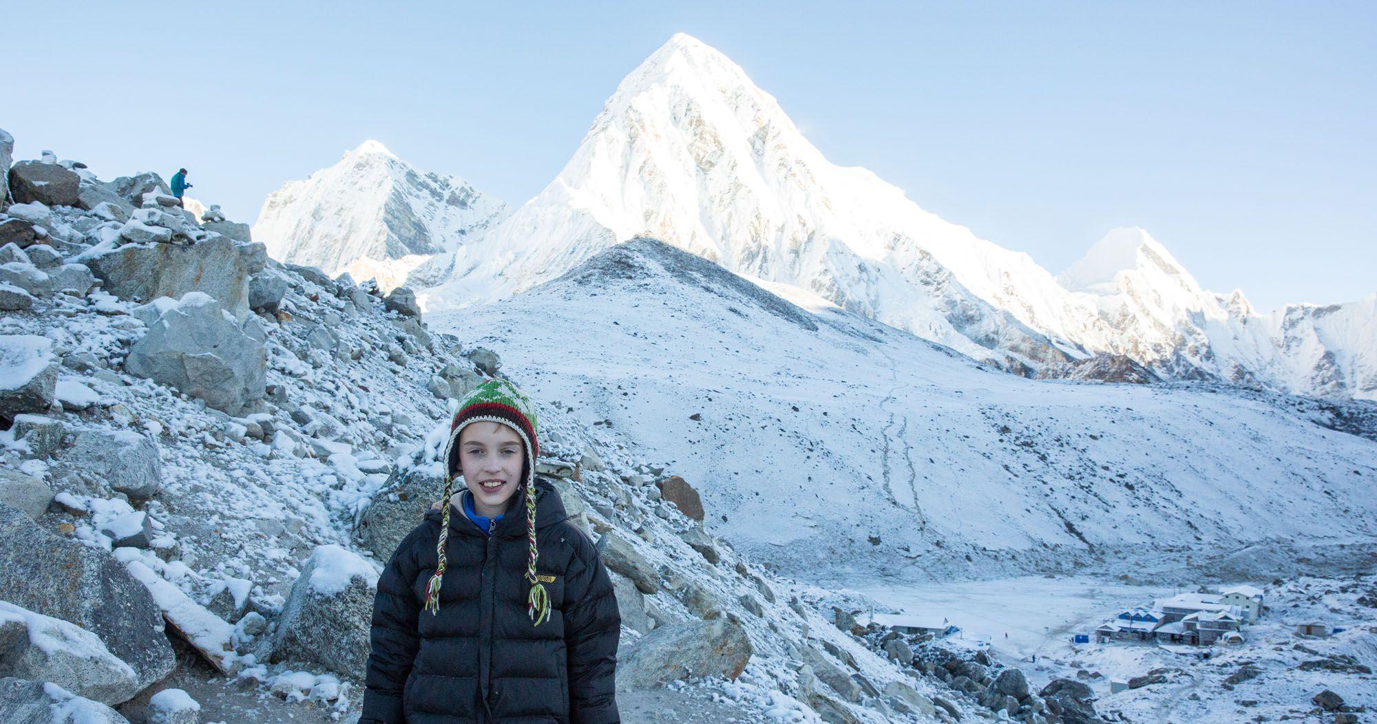 Tyler in Nepal