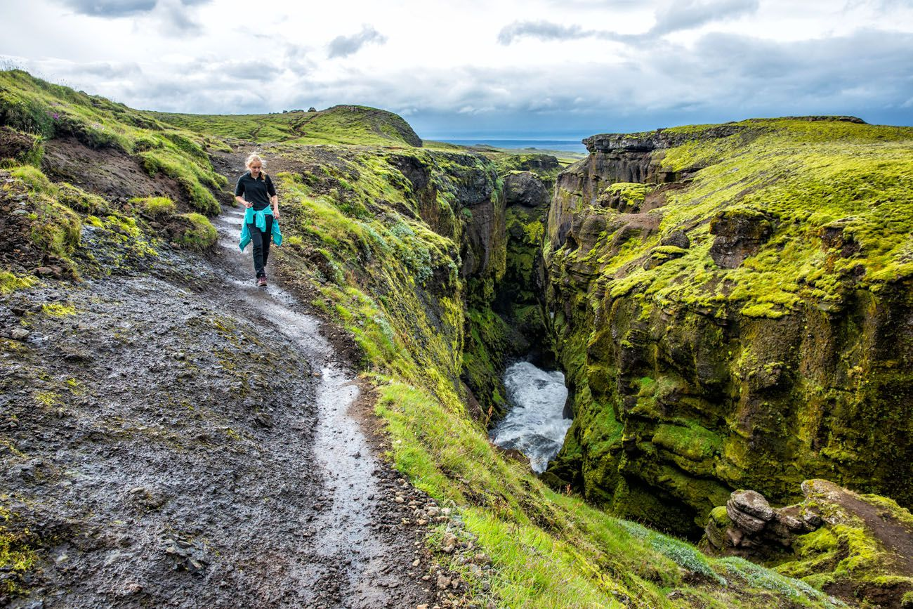 Waterfall Way Hike Iceland best day trips from Reykjavík