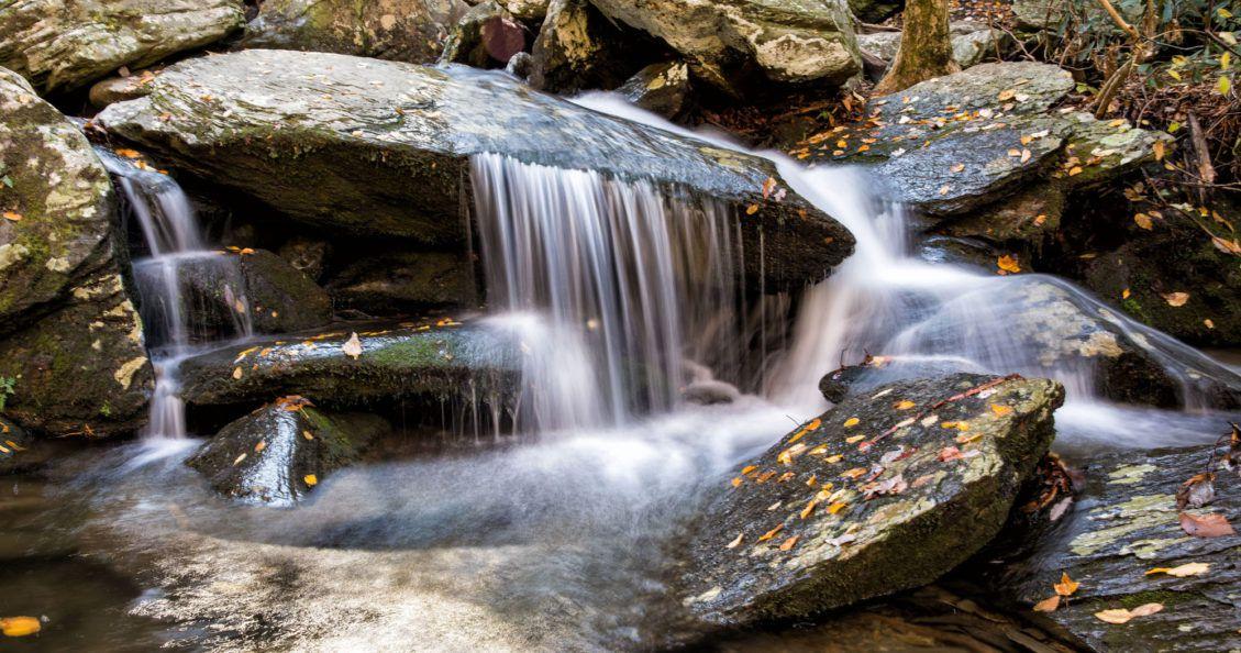 Waterfalls in Asheville