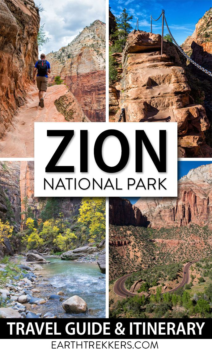 Zion National Park Itinerary Travel Guide