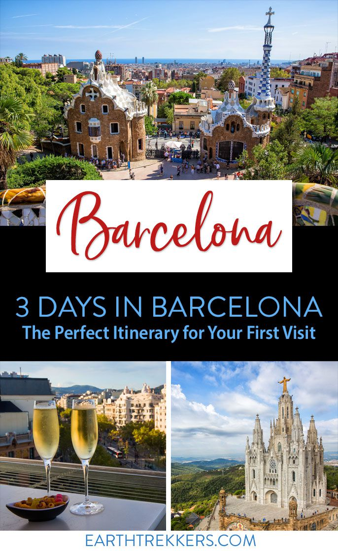 Barcelona Itinerary and Travel Guide