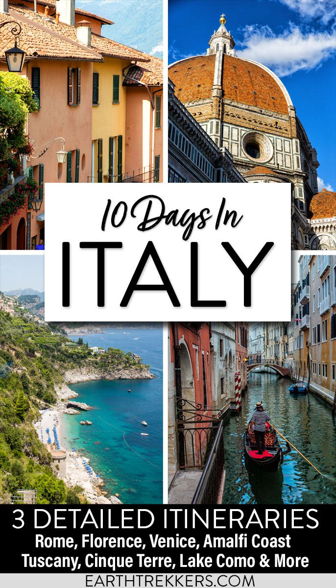 Best Italy Itinerary 10 Days
