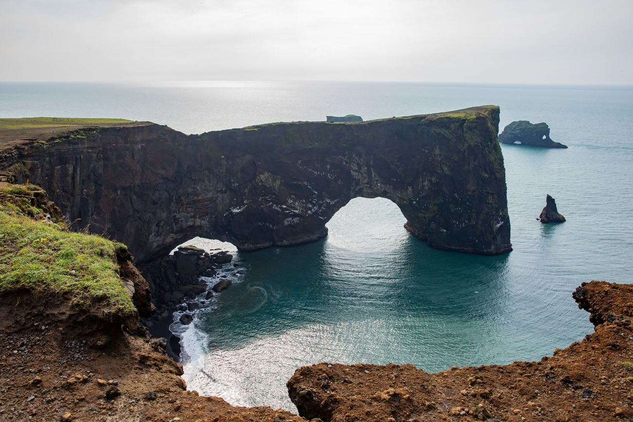 Dyrholaey Arch south coast of Iceland