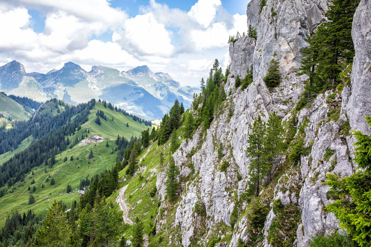 Hiking the Gastlosen day trips from Lausanne