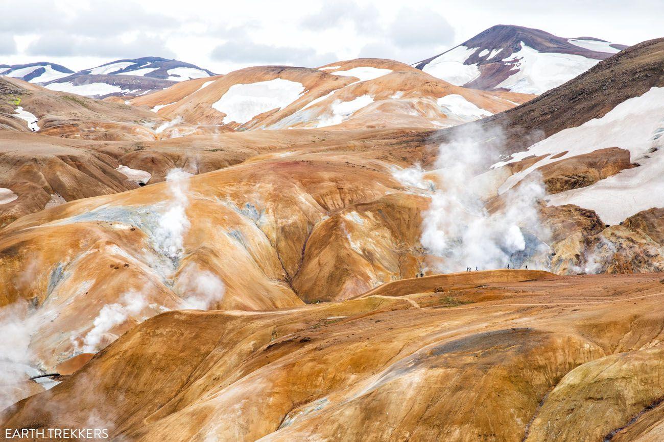 Hveradalir Geothermal Area