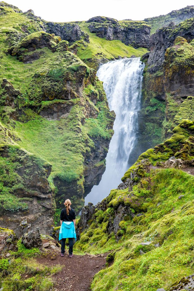 Iceland Waterfall Hike