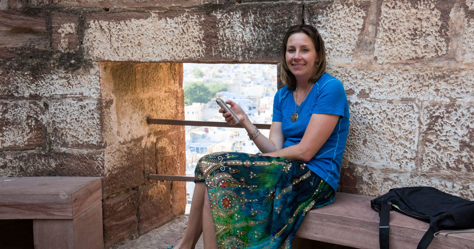 Julie in India with Dengue Fever