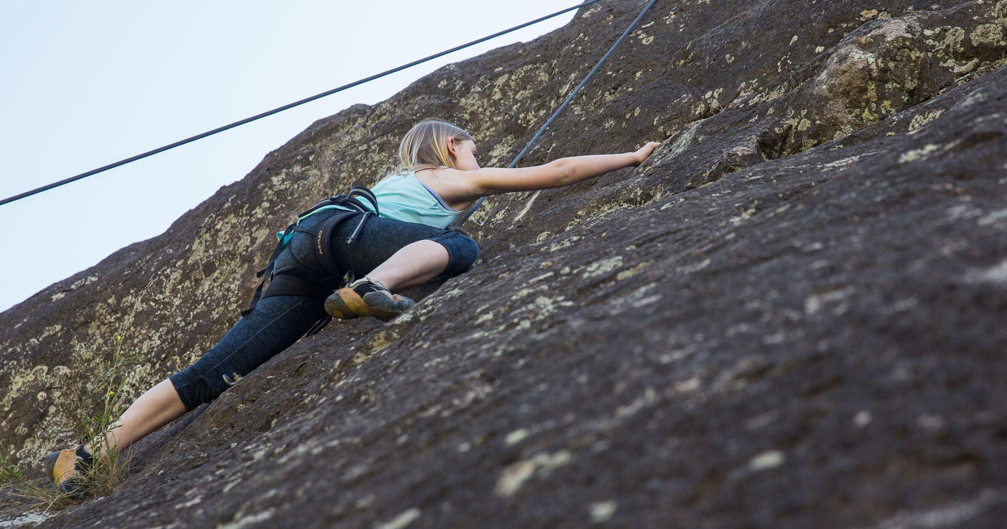 Kara Rock Climbing