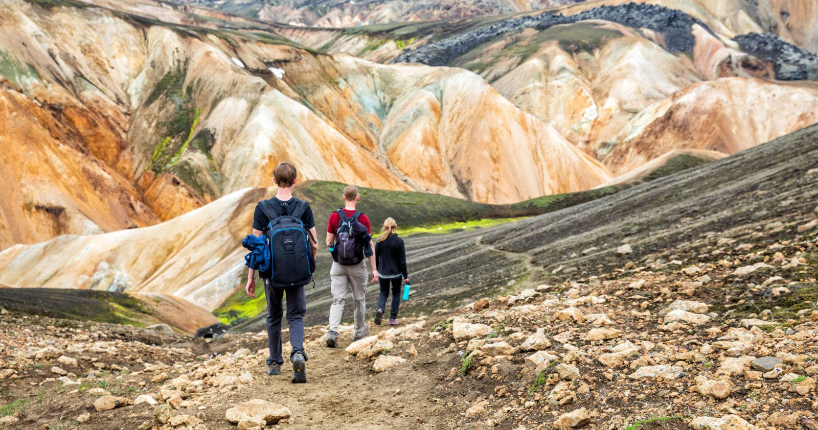 Landmannalaugar Best Day Hikes in Iceland