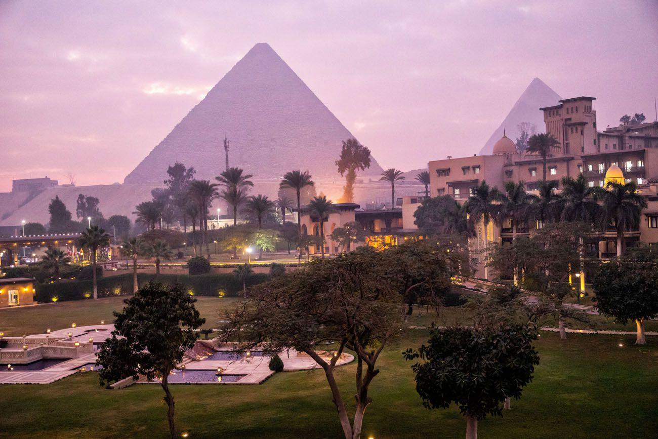 Marriott Pyramid view