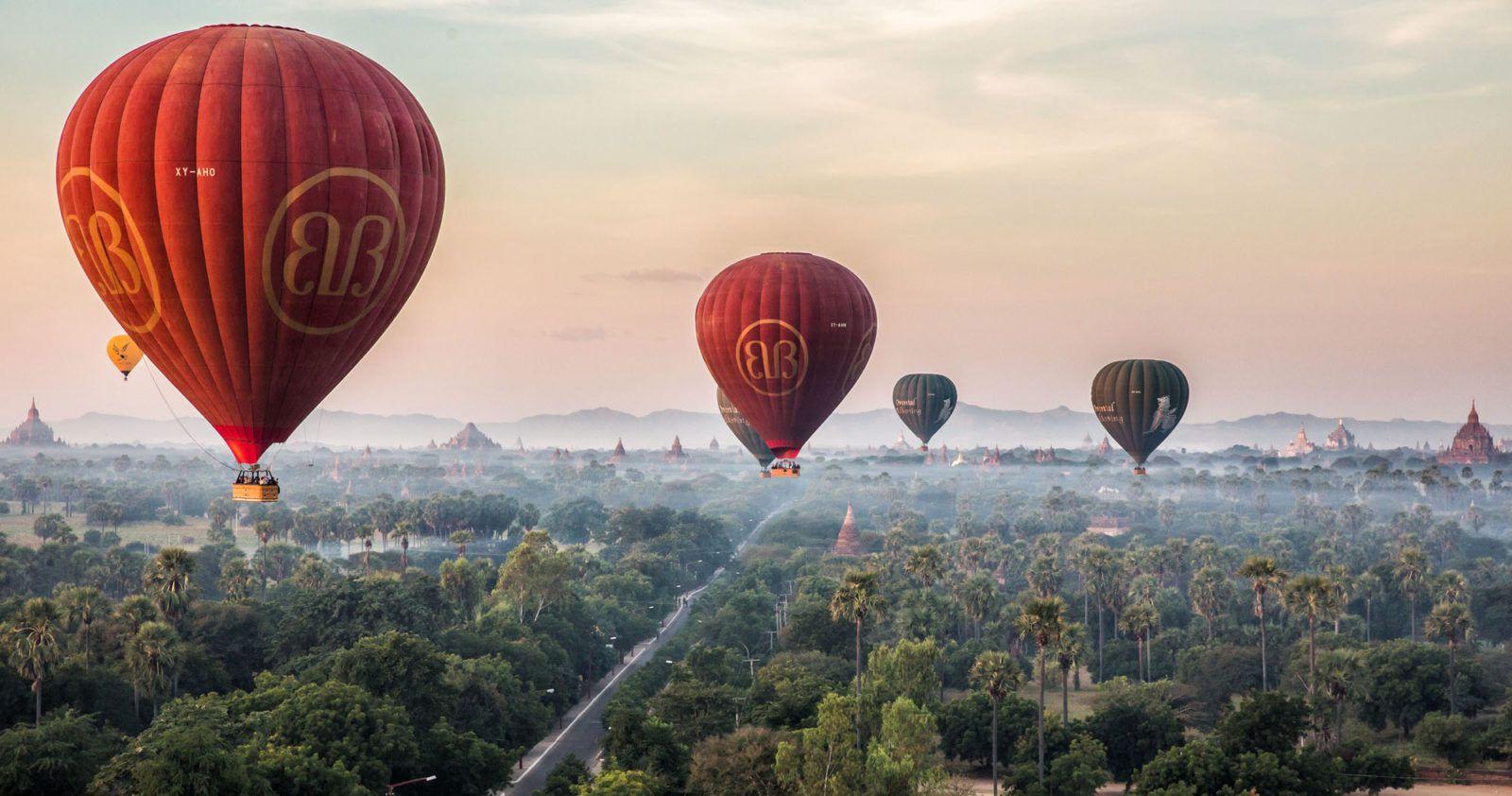 Myanmar Hot Air Balloon