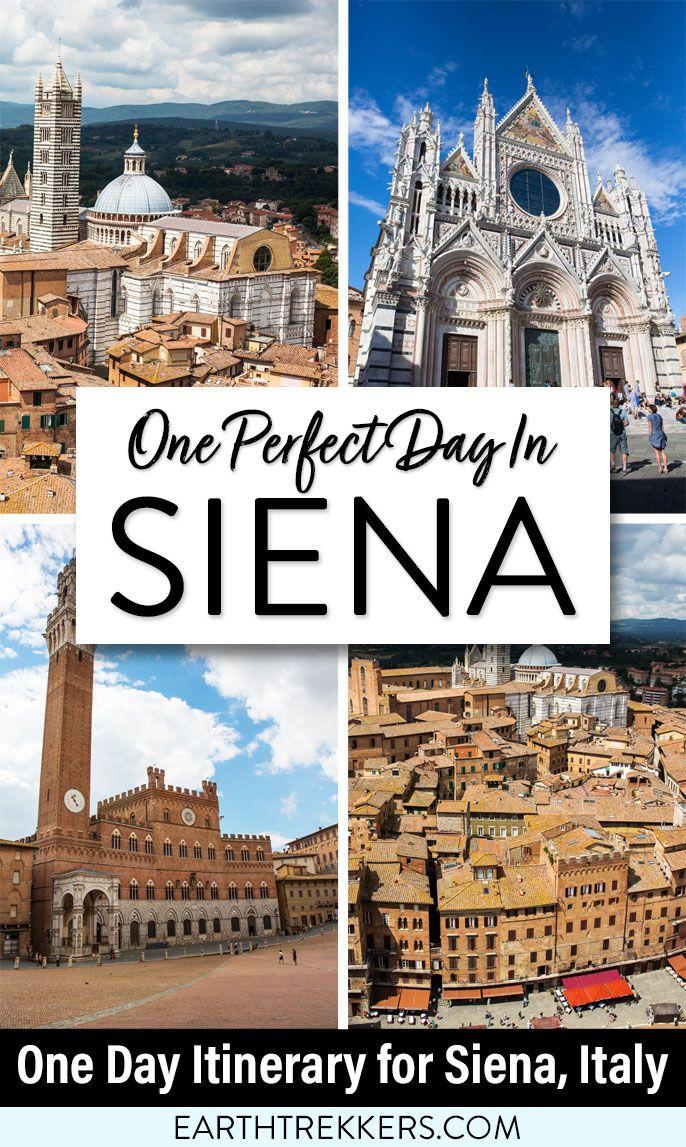 One Day Itinerary Siena Italy