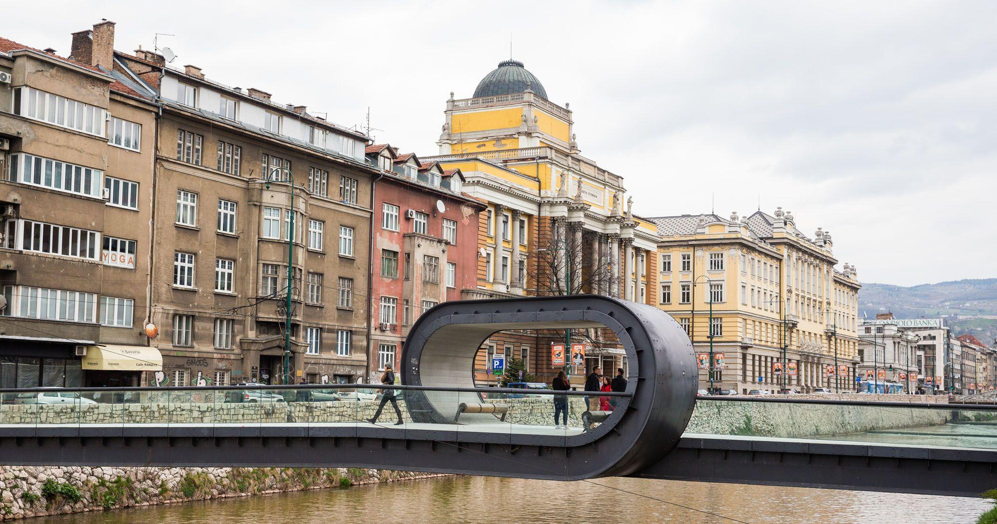 Sarajevo Loading interface