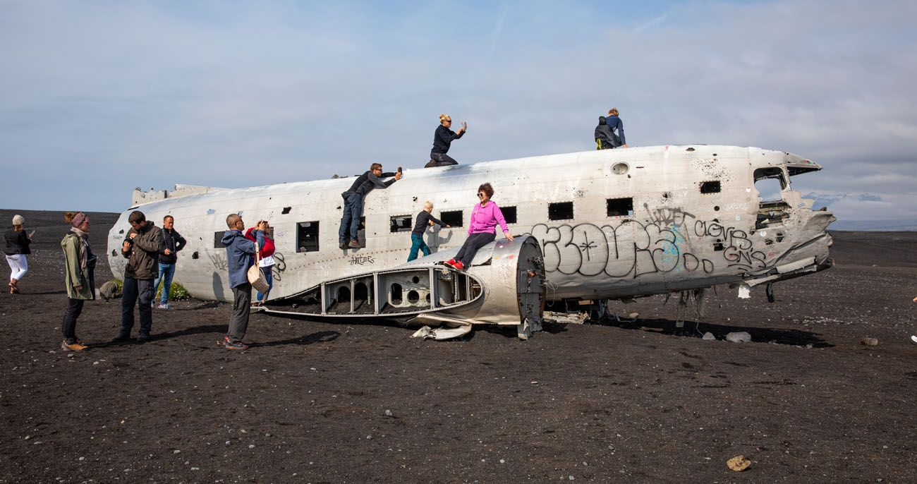 Solheimsandur Plane Wreck