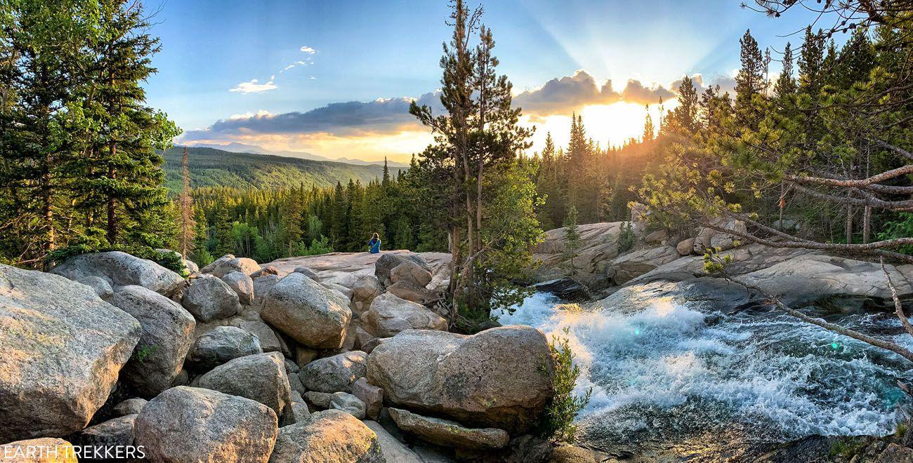 Alberta Falls Sunrise