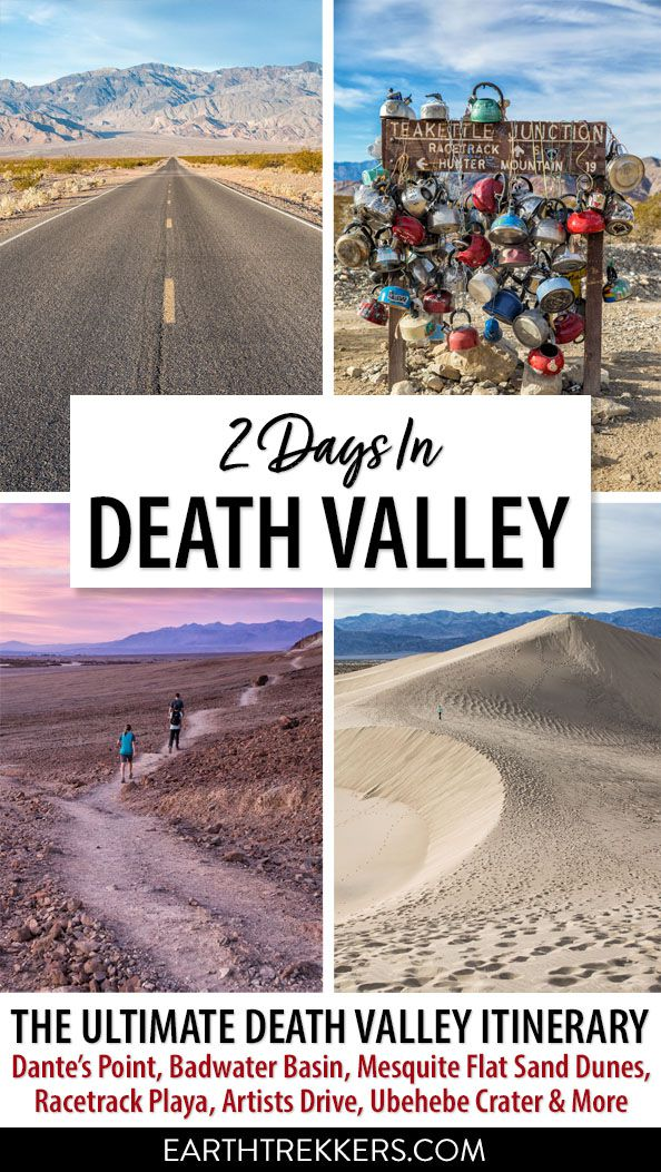 Death Valley Itinerary from Las Vegas