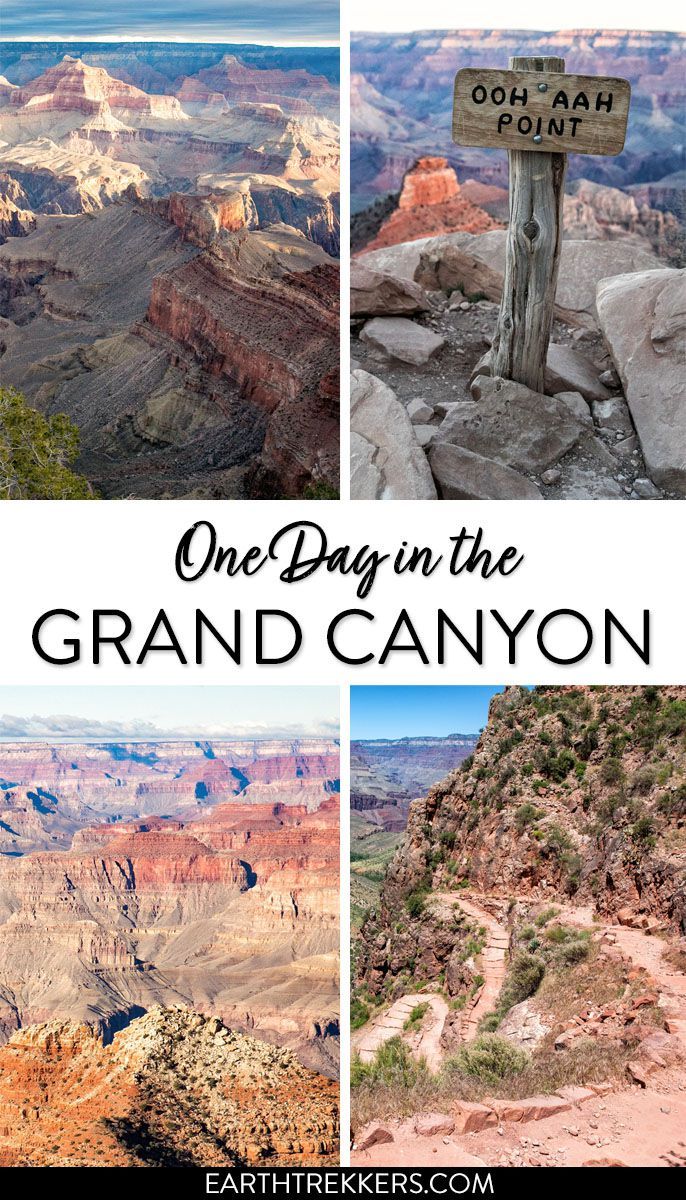 Grand Canyon One Day Itinerary