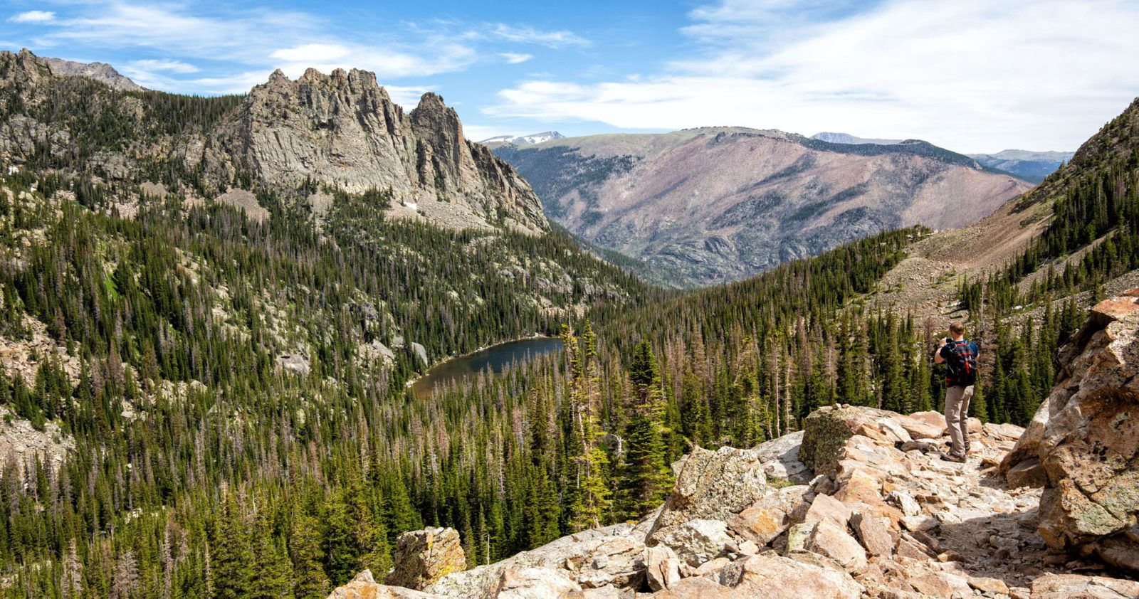 Hike Fern Lake Colorado