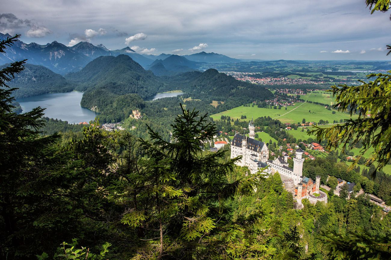 Overlooking Neuschwanstein