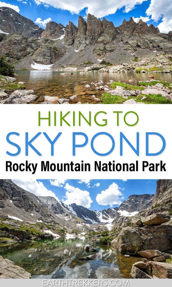 Rocky Mountain National Park Sky Pond