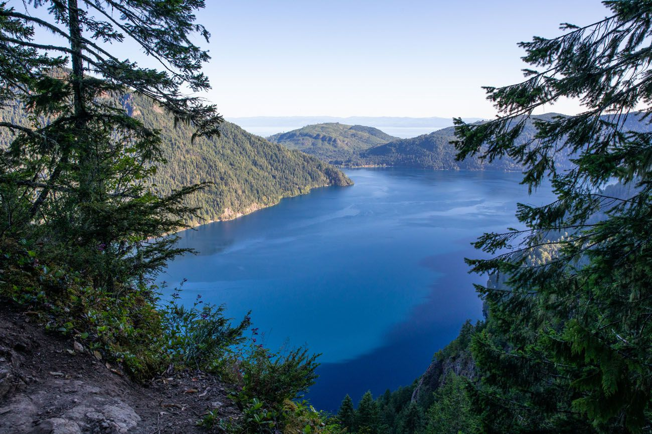 View of Lake Crescent