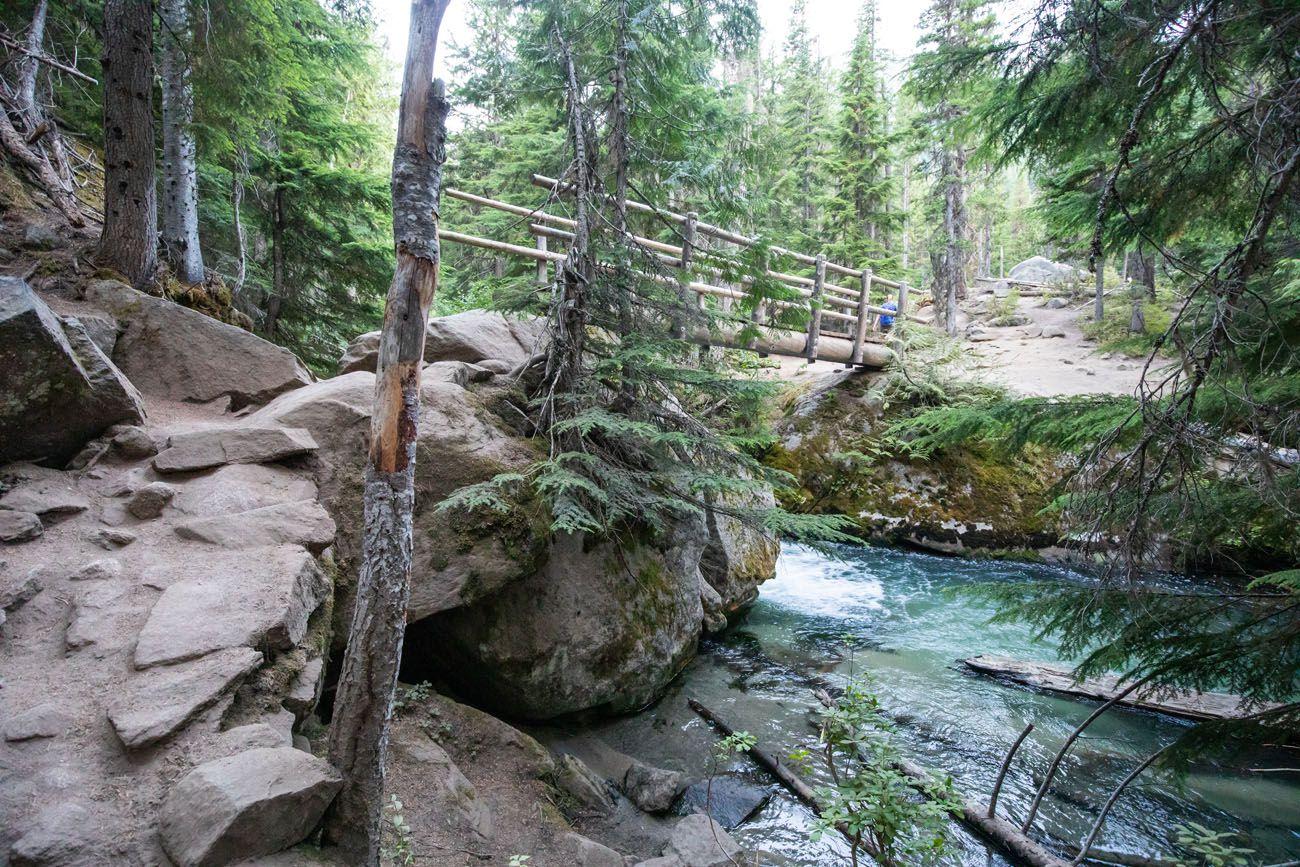 Bridge on Enchantments Hike