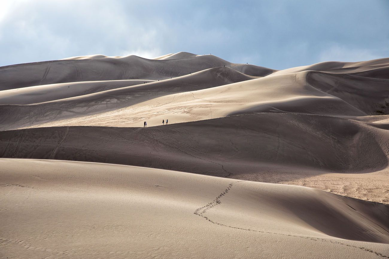Great Sand Dunes Layers
