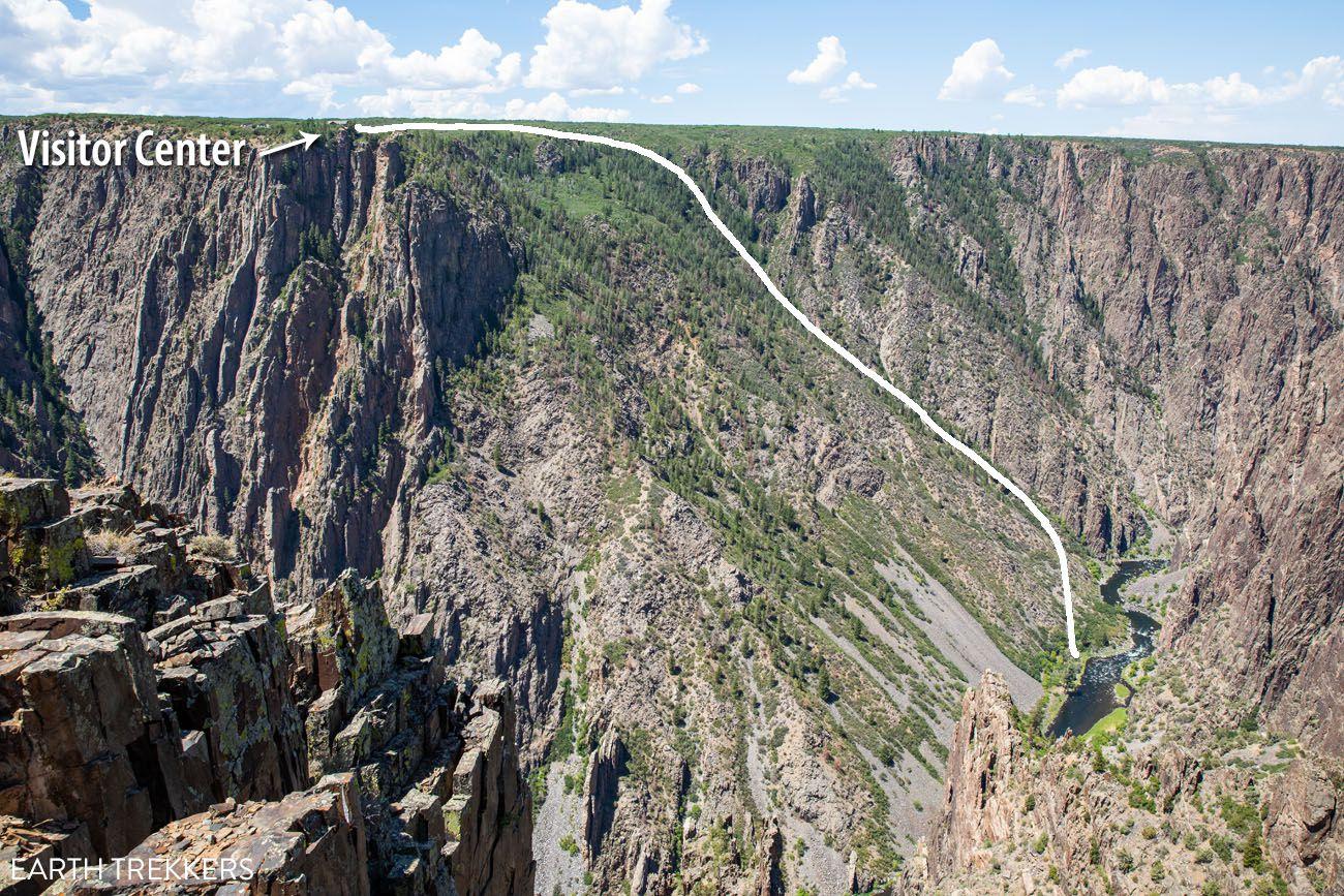 Gunnison Route Trail