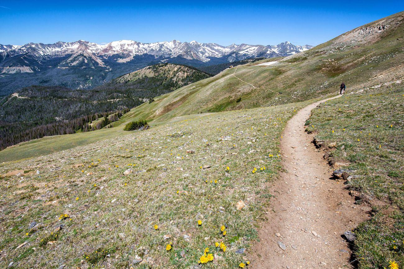 Hike Mt Ida