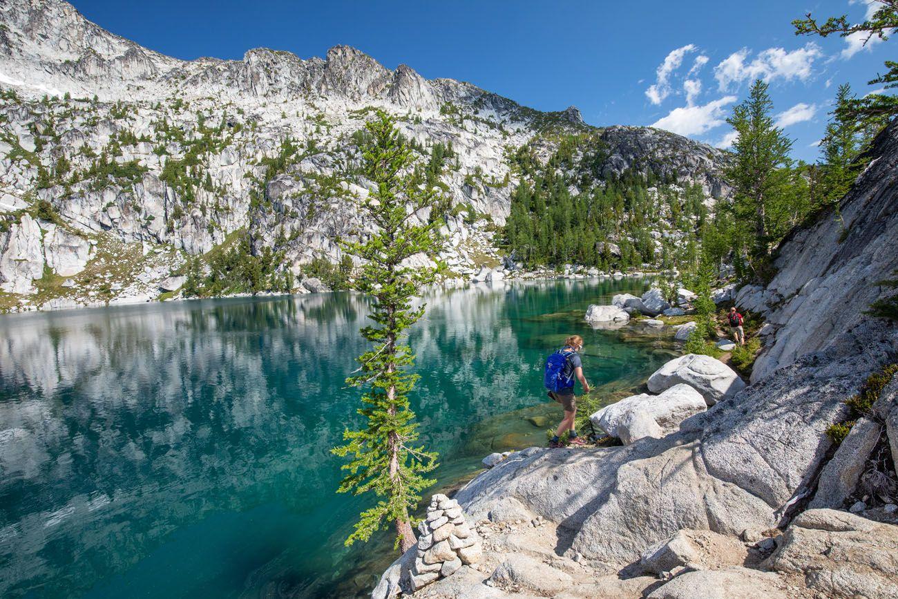 Inspiration Lake Enchantments Hike
