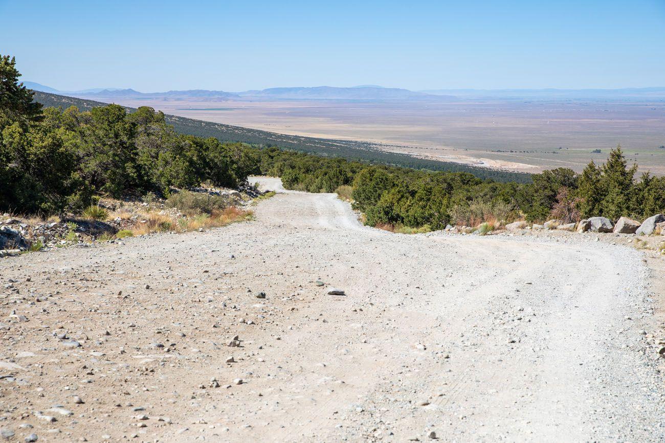 Road to Zapata Falls