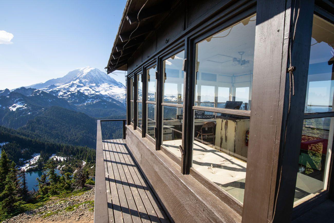 Tolmie Peak Lookout View