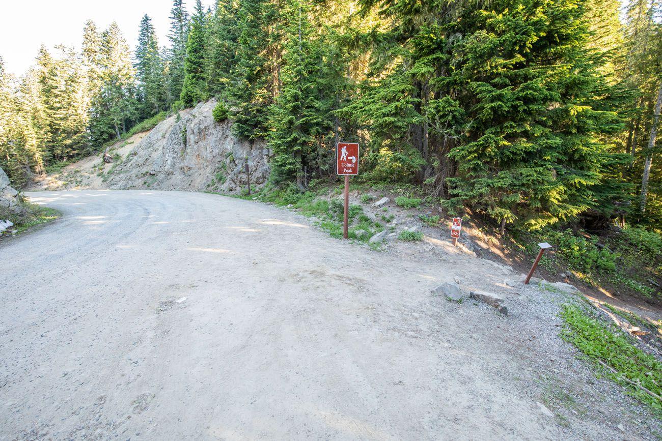 Tolmie Peak Trailhead