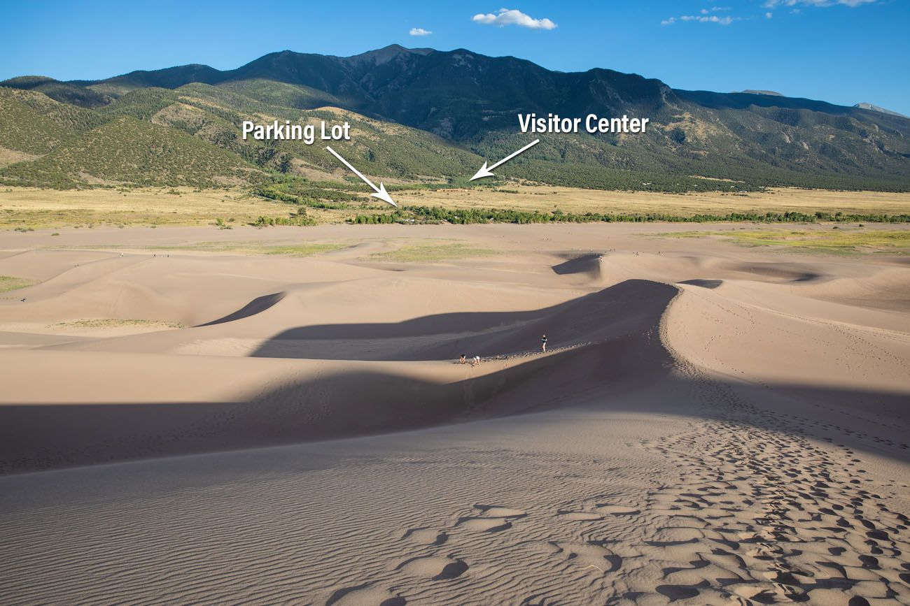 View from the Sand Dunes
