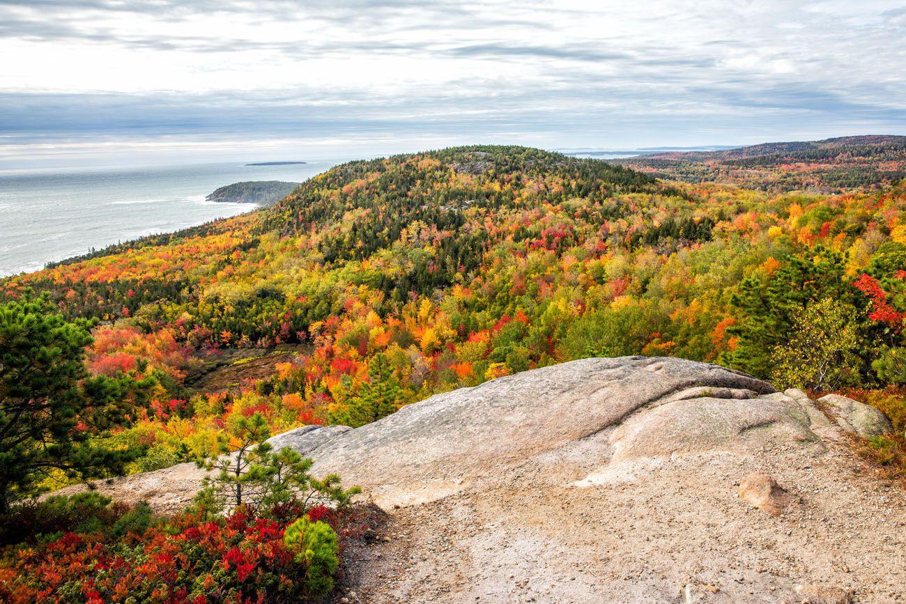 Acadia National Park in October